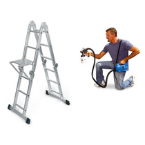 Escada Multiuso Super Ladder + Paint Zoom 220v
