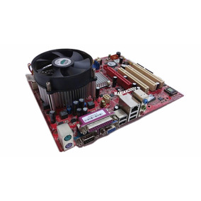 Placa Mãe Via Chipset 8237 Plus N1996 +memoria Kit. Completo