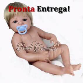Bebe Reborn Silicone Pronta Entrega Barato Menino E Menina