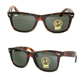 Óculos De Sol Modelo 2140 Wayfarer Tartaruga