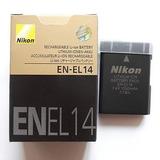 Bateria Nikon En El14 P7100 P7000 D3100 D5100 D3200. Nueva