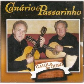 Cd Canário E Passarinho - Gaiola De Ouro - Novo***