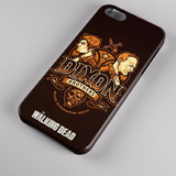 Capinha Case Iphone Série The Walking Dead Irmãos Dixon 022