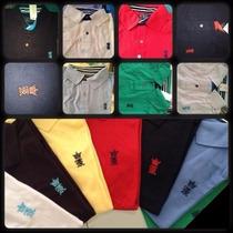 Um Kit C/10 Camisetas Gola Polo Varias Marcas Revenda Lucre