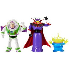 Toy Story Buzz Aventura Espacial 3 Personajes Mattel