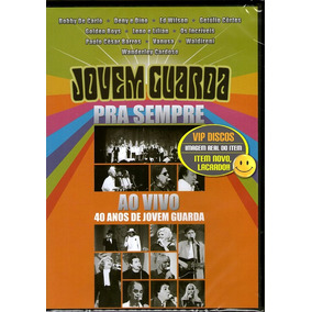 Dvd Jovem Guarda Pra Sempre 40 Anos Wanderley Cardoso - Novo