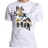 Camiseta Rosa De Saron