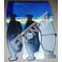 Kit De Pastillas De Freno X 4 Ruedas Bosch Fiat 500