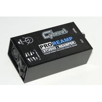 Pro Reamp Cybernet Produto Para Gravações ( Mixer Pro Tools)