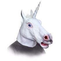Mascara Cabeza Unicornio Harlem Shake Creepy Horse