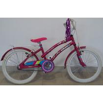 Bicicleta Olmo Rodado 20 Nuevas Nenas Tiny Dancers Rosa