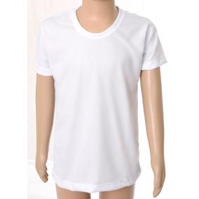 10 Camisetas Infantil Lisa 100% Poliéster Camisa Sublimação