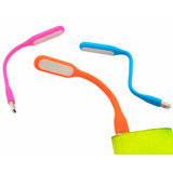 Mini Lampara Linterna Usb Luz Led Flexible Para Pc