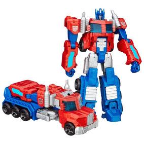 Boneco Robô Transformável Caminhão Optimus Prime B1293