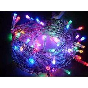 Pisca Pisca De Natal Com 100 Lâmpadas Led Multicolorida 220v