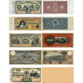 Réplicas 5-cédulas De Réis - Bancos Particulares - Lote 17