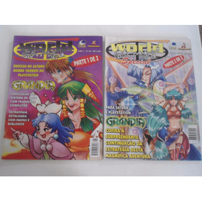 Revista - Coleção Completa Grandia World Games E Wg Special