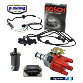 Kit Encendido Electronico Vw Sedan Vocho Combi Cables Bosch