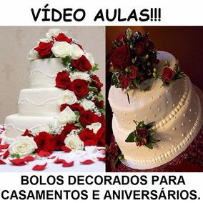 Curso Decoração Bolos Decorados Aniversários Casamentos Z0q