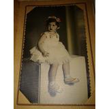 Foto Postal Nena Disfrazada Hermosa
