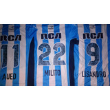 Camiseta Titular Racing Contra Defensa Y Justicia 2016