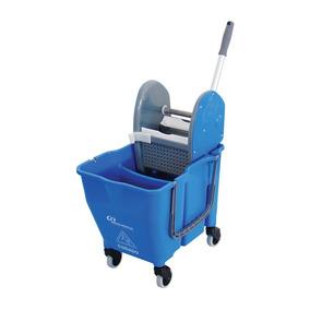 Balde Espremedor Doblo 30 Litros Azul Bralimpia Ny109