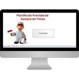 Planilha, Excel, Previsão De Necessidade De Compra De Tinta