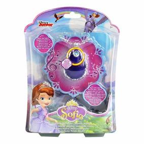 Amuleto Musical Com Luz Original Princesinha Sofia Disney