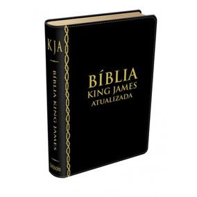 Bíblia De Estudo King James / Preta - Frete Grátis