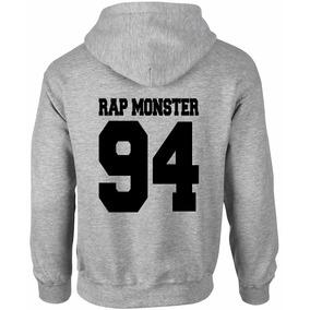 Moletom Feminino Bts Bangtan Boys Kpop Rap Monster Nova Logo
