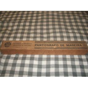Pantografo De Madeira Trident Completo 40 Cm --original