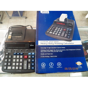 Calculadora Electrica Digital Ativa (canon) At-p6000 14 Digi