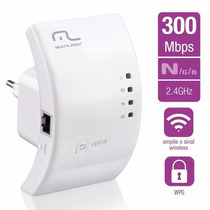 Repetidor Wifi Wireless Multilaser 300mbps Re051 Nfe