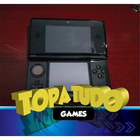 Nintendo 3ds Seminovo Desbloqueado 32gb Com Jogos Garantia!!