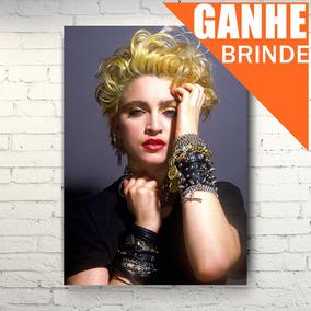 Poster Madonna Raro - Tamanho Grande + Brinde