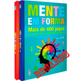 Coleção Mente Em Forma + 400 Jogos Capacidade Cerebral