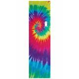 Lixa Skate Grizzly Bear Griptape Tie Dye Cut Logo Removível