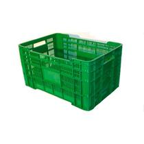 Caja De Plástico 55.5 X 38 X 33 De Alto Para 40 Kg
