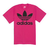 Camisa Logo Adidas Para Dama 100% Algodon