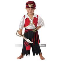 Disfraz De Pirata Para Niño Talla 4-6