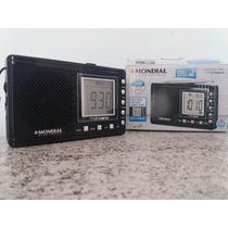 Rádio Digital, Am/fm/ Ondas Curtas (10 Faixas) Alarme