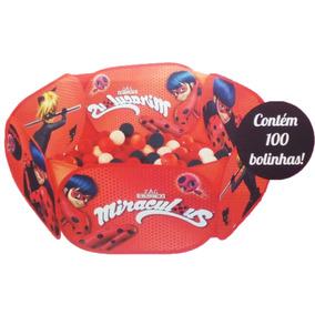 Piscina De Bolinhas Miraculos Zippy Toys 100 Bolinhas Barato