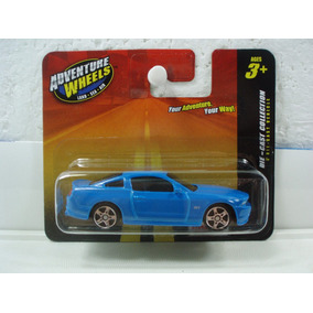 Maisto Adventure Wheels 2010 Ford Mustang Gt Azul 1:64
