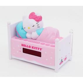 Hello Kitty Radio,reloj,despertador De Camita Original
