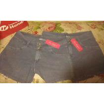 Shorts Feminino Jeans 44 E 46