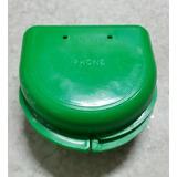 Estuche Verde Acrilico De Frenillos Aparatos Bucales