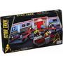 Star Trek Uss Enterprise Bridge Mega Bloks Puente 594 Pzas