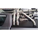 Barra Antivuelco Acero Inox.triple Tubo Mazda New Bt-50