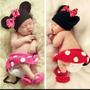 Disfraz Minnie Beba Book De Fotos Tejido