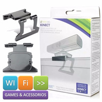 Suporte Clip Kinect Microsoft - Xbox 360 + Nota Fiscal